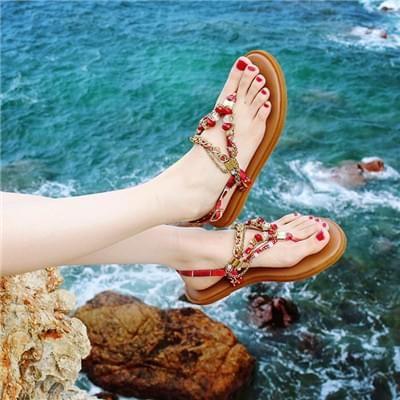 罗马沙滩鞋